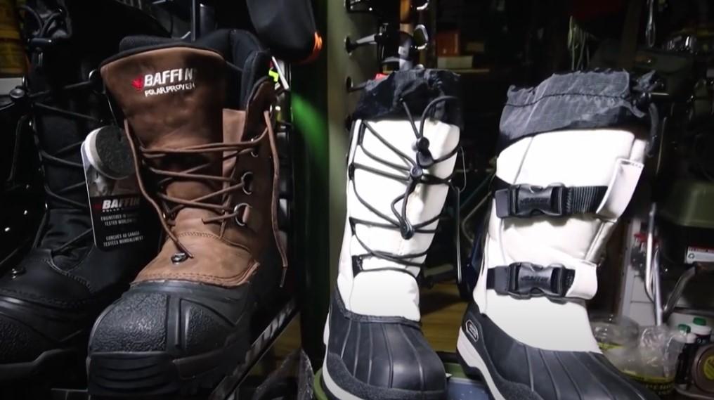 Зимняя обувь для рыбаков и охотников