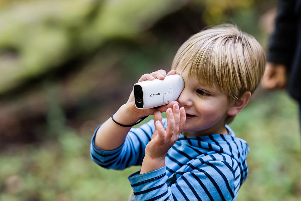 Миниатюрная камера-монокуляр Canon PowerShot ZOOM