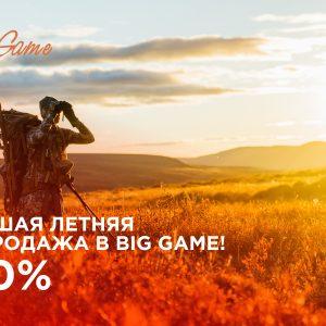 Распродажа в Big Game