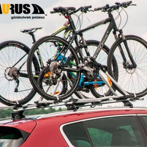 2 велокрепления на крышу Taurus BikeUp Pro